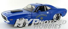 MAISTO 1:24 ALLSTARS 1970 DODGE CHALLENGER R/T COUPE STATE POLICE BLUE 31129BL