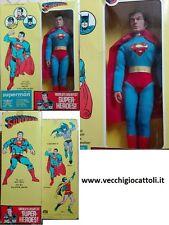 """Mego personaggio Super Eroi Superman 12.5"""" 1977 MIB"""