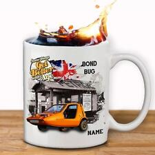 Personalised BOND BUG Car Mug Cup Dad Custom Gift - Add Name