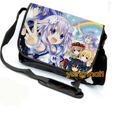 Anime Hyperdimension Neptunia Messenger Bag Satchel Laptop Bag#Q-G-M06