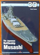 The Japanese Battleship Musashi - Super Drawings in 3D - Kagero ENGLISH