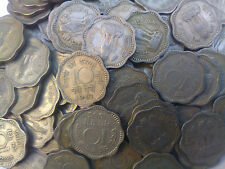 10 PAISA OF 50 COINS LOT- INDIA