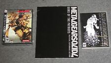 Metal Gear Solid 4 Gun of Patriot Limited Edition PS3 + Saga Vol 2 DVD + Artbook