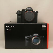 BRAND New Sony Alpha a7R II 42MP 4K Full frame PAL/NTSC Camera Mark II UK SPD