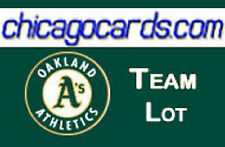 Oakland Athletics 300-Card Team Lot 1985-2015 with Rookies Stars Legends + AUTO
