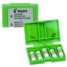 PILOT MS-10 MECHANICAL PENCIL REPLACEMENT ERASER REFILLS - PACK OF 5
