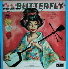 "GIACOMO PUCCINI ""MADAME BUTTERFLY""   33T LP"