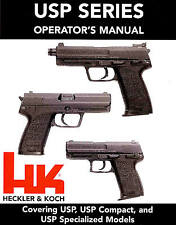 HECKLER & KOCH USP PISTOL OWNERS INSTRUCTION MANUAL -HK H&K USP COMPACT EXPERT