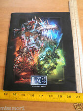 2009 Blizz Con gaming convention program Diablo Starcraft World of Warcraft