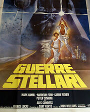 STAR WARS Authentic Original 1977 Poster (Near Mint Condition)
