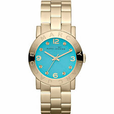 NEW MARC JACOBS MBM3220 LADIES GOLD AMY WATCH - 2 YEAR WARRANTY