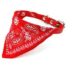Dog Bandana Adjustable Red Collar Pet Bandanna Accessories New