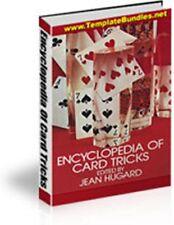 The Encyclopedia Of Card Tricks - PDF eBook With Master Resell Rights