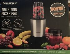 Silvercrest nutrition mixer pro 900W smoothie bullet juicer.