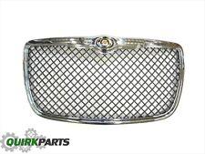 09-10 Chrysler 300 Black Chrome With Chrome Surround Grille Insert OEM NEW MOPAR