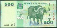 TWN - TANZANIA 35 - 500 Shilingi 2003 UNC Prefix BS