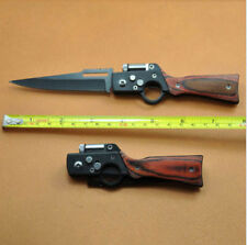 Tactical Folding Blade Knife Survival Hunting Camping Portable Knife With LED