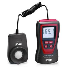 NEW Pyle PLMT15 Lux Light Meter W/ 2X Per Second Sampling & 200,000 Lux Range