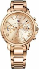 Women's Tommy Hilfiger Lux Rose Gold Tone Steel Watch 1781743