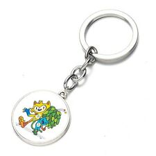 New 2016 Brazil Rio Olympic Games Mascot Key Chain Gift Key Rings DD  10011