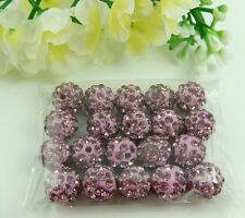 10mm Disco Ball Clay Cz beads for shamballa Accessories charm Wholesale Lots