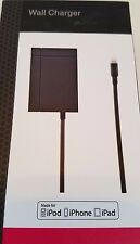 Genuine OEM T-Mobile Apple Lightning Cable Wall Charger for iPhones, iPods iPads
