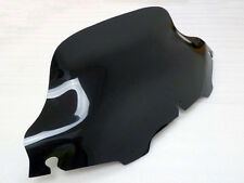 "SMOKED DARK 8"" Wave Windshield Windscreen For Harley Touring FLHT FLHTC FLHX"