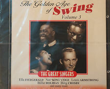 Golden Age of Swing Vol 3 Great Singers CD Nelson 25 Tracks 70 mins Sealed MINT