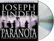 Paranoia by Joseph Finder Audiobook On Cd