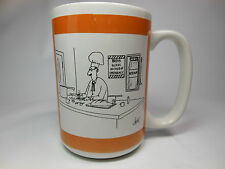 Saturday Evening Post COFFEE MUG Cartoon Chef Break Glass In Case of Emergency
