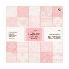 "Sample Pack Papermania 16 x 6 x 6"" Paper Pack - Capsule Collection - Wild Rose"