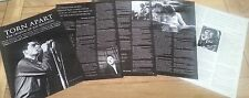 JOY DIVISION ' torn apart' 9 pages of interviews UK ARTICLE / clipping
