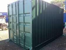 Rare Size 15x8 Ft Secure Container With Lock Box