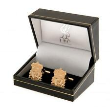 Liverpool Fc Gold Plated Cufflinks & Presentation Box - Mens Gift For Him