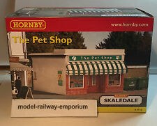 Hornby SKALEDALE - R9710 - THE PET SHOP - NEW ITEM BOXED RARE LOOK