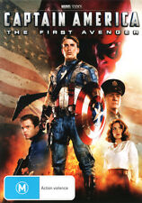 Captain America: The First Avenger (2011) * NEW DVD * Chris Evans Hayley Atwell