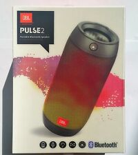 NEW JBL PULSE 2 PORTABLE BLUETOOTH SPLASHPROOF WIRELESS SPEAKER WITH LIGHT SHOW