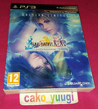FINAL FANTASY X FINAL FANTASY X-2 HD REMASTER EDITION LIMITEE SONY PS3 BON ETAT