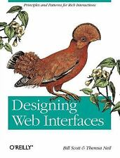 Designing Web Interfaces : Principles and Patterns for Rich Interactions by...