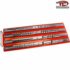 "2 80Pc Socket Rack Trays Storage Mechanics Organization Tool 1/4"" 3/8"" & 1/2"""