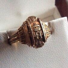 10k Gold Class Ring~Hewitt High School~Alabama~1950 Antique