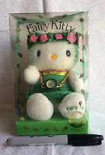 New Sealed GIFT BOXED FAIRY KITTY 2000 WATCH and PLUSH from Japan-ship free