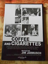 DVD Coffee and Cigarettes de Jim Jarmusch (2002, DVD NON MUSICAL)