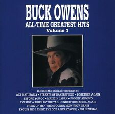 Vol. 1-All-Time Greatest Hits - Buck Owens (1990, CD NEUF) CD-R