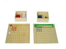 Montessori, Multiplikationsbrett und Divisionsbrett im Set, MS20