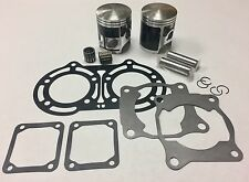Yamaha Banshee 350 Stock Bore 64 mm Pistons Piston Kit Top End Gaskets Bearings