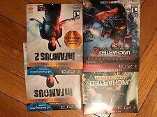 Infamous And Uncharted Collection PS3