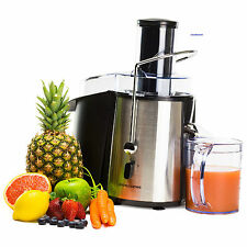 ANDREW JAMES WHOLE FRUIT, VEGETABLE, JUICER, EXTRACTOR, SILVER/BLACK