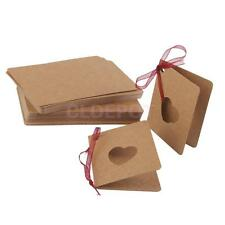50 Brown Vintage Gift Tags Kraft Paper Blank Gift Tags Blank Greeting Cards