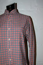 EUC Brooks Brothers Slim Fit Red Blue Gingham Plaid Button Front Casual Shirt S